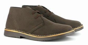 #3: Yom Kippur Shoes for Men: Bush Boot Brown from Vegetarian Shoes